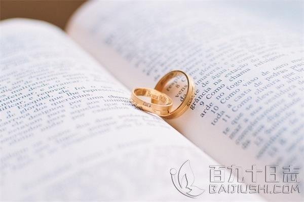 结婚戒指戴上无名指上的原因_www.baijiushi.com